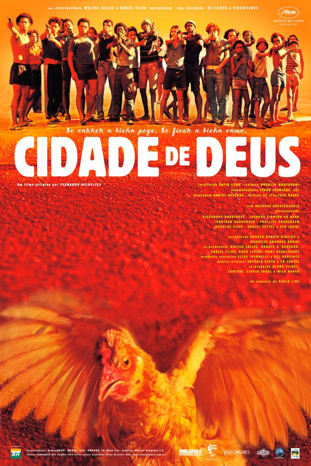 "Poster for the movie ""Ciudad de Dios"""