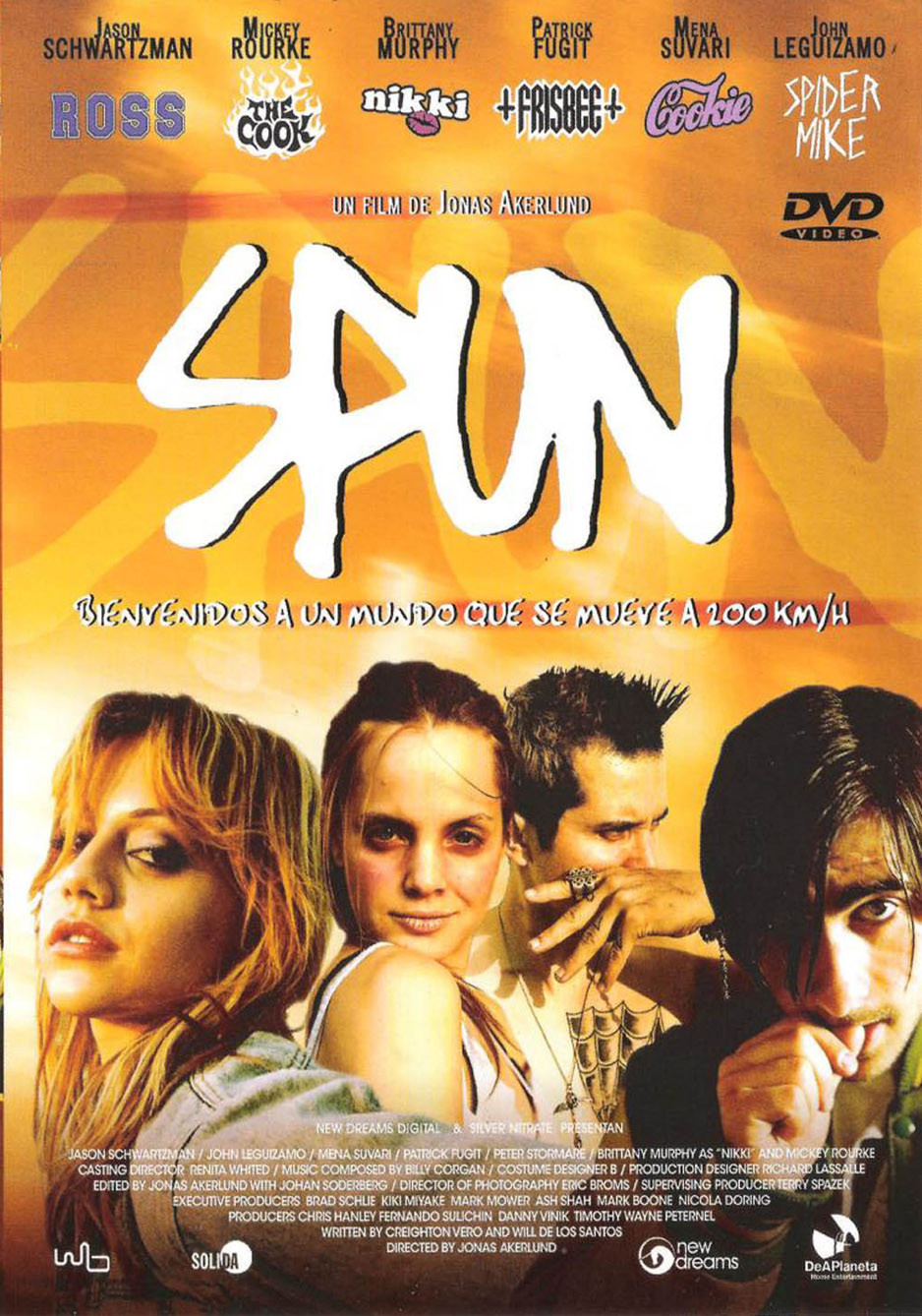 "Poster for the movie ""Spun"""